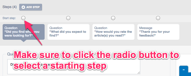 Steps to troubleshoot why your survey isn't displaying